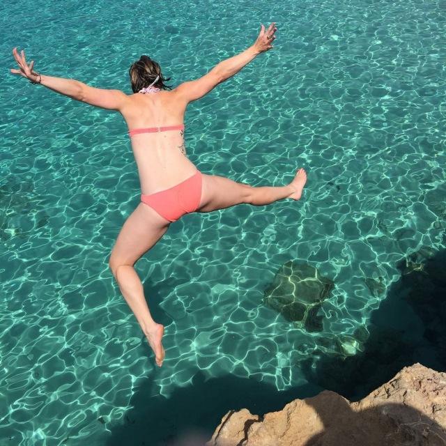 J cliff dive